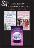 Christmas Trio B: A Cedar Cove Christmas / Call Me Mrs. Miracle / A Countess by Christmas / The Earl's Mistletoe Bride / A Winter Love Story / Give Me Forever / Jed Hunter's Reluctant Bride (Mills &