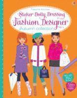 Sticker Dolly Dressing Fashion Designer Autumn Collection