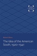 The Idea of the American South, 1920-1941