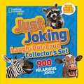 National Geographic Kids Just Joking Laugh-Out-Loud Collector's Set: 900 Hilarious Jokes