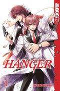 Hanger Volume 1 manga (English)