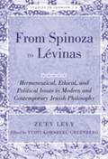 From Spinoza to Levinas