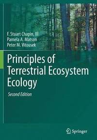 Principles of Terrestrial Ecosystem Ecology