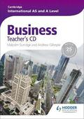 Cambridge International AS and A Level Business Teacher's: Teacher's CD
