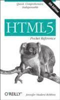 HTML5 Pocket Reference 5th Edition