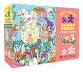 Piece It Together Family Puzzle: Purrmaid Paradise: (60-Piece Puzzle for Kids and Toddlers Ages 2-5. Cat and Kitty Puzzle Artwork)