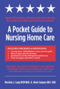 A Pocket Guide to Nursing Home Care