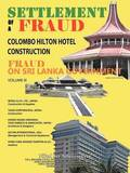 Settlement of A Fraud Colombo Hilton Hotel Construction