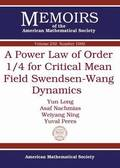 A Power Law of Order 1/4 for Critical Mean Field Swendsen-Wang Dynamics