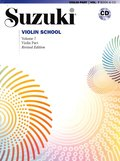 Suzuki Violin School, Vol 7: Violin Part, Book & CD