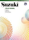 Suzuki Cello School, Vol 5: Cello Part, Book & CD
