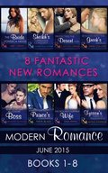 Modern Romance June 2015 Books 1-8
