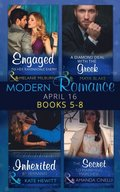 Modern Romance April 2016: Books 5-8