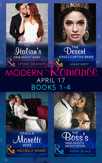 Modern Romance September 2017 Books 1 - 4 (Mills & Boon e