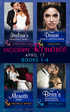 Modern Romance April 2017 Books 1-4: The Italian's One-Night Baby / The Desert King's Captive Bride / Once a Moretti Wife / The Boss's Nine-Month Negotiation (Mills & Boon e-Book Collections)
