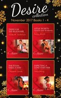 Desire Collection: November Books 1 - 4 (Mills & Boon e-Book Collections)
