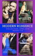 Modern Romance Collection: April 2018 Books 5 - 8: Vieri's Convenient Vows / Her Wedding Night Surrender / Captive at Her Enemy's Command / Conquering His Virgin Queen