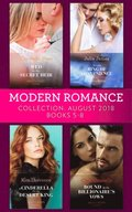 Modern Romance August 2018 Books 5-8 Collection: Wed for His Secret Heir / Tycoon's Ring of Convenience / A Cinderella for the Desert King / Bound by the Billionaire's Vows