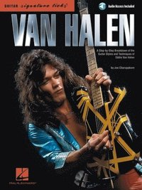 Van Halen - Signature Licks: A Step-By-Step Breakdown of the Guitar Styles and Techniques of Eddie Van Halen