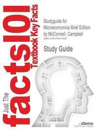 Macroeconomics campbell mcconnell hftad 9780077660772 bokus studyguide for microeconomics brief edition by mcconnell campbell isbn 9780077416201 fandeluxe Gallery