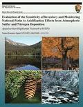 Evaluation of the Sensitivity of Inventory and Monitoring National Parks to Acidification Effects from Atmospheric Sulfur and Nitrogen Deposition: App