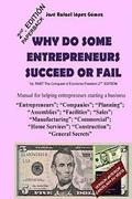 Why do some entrepreneurs succeed or fail