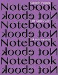 Graph Paper Notebook 1/4 inch squares 120 pages: Notebook not Ebook graph paper notebook with 1/4 inch squares, perfect bound, ideal for graphs, math