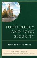 Food Policy and Food Security