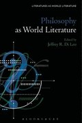 Philosophy as World Literature