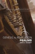 Genesis to Revelation: Psalms Participant Book: A Comprehensive Verse-By-Verse Exploration of the Bible