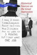 Historical Sources on the Great Depression
