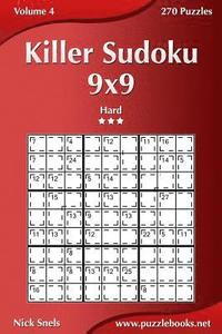 Killer Sudoku 9x9 - Hard - Volume 4 - 270 Puzzles
