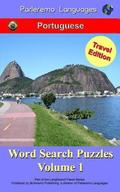 Parleremo Languages Word Search Puzzles Travel Edition Portuguese - Volume 1