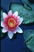 Meditation Journal: Lotus Flower, Lined Journal, Blank Book 6 X 9, 150 Pages for Mindfulness Reflection, Insight Meditation and Stress Rel
