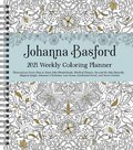 Johanna Basford 2021 Weekly Coloring Planner Calendar