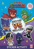 PJ Masks: Heroes vs Villains Sticker Activity