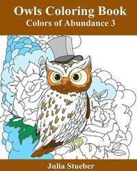 Owls Coloring Book: Adult Coloring Book