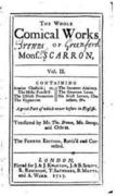 The Whole Comical Works of Mons. Scarron - Vol. II