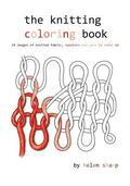 The Knitting Coloring Book: 24 Images of Yarn, Knitting and Sweaters to Color in