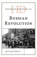 Historical Dictionary of the Russian Revolution
