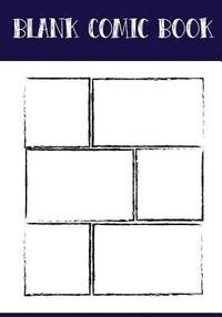 Blank Comic Book Panelbook - Bruch Panel, 7x10, 130 Pages: Make Your Own Comic Books