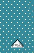 Notebook Journal Dot-Grid, Graph, Lined, No Lined: Blue White Polka Dot Bubble: Small Notebook Journal Diary, 120 Pages, 5.5 X 8.5