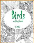 Adult coloring book: birds coloring book for adult