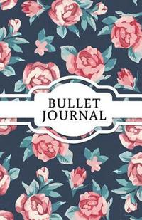 Bullet Journal: Vintage Rose - Dotted Grid Journal for Girls: (5.5*8.5) 130 Pages