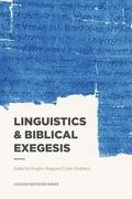 Linguistics &; Biblical Exegesis
