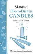 Making Hand Dipped Candles