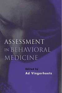 Assessment in Behavioral Medicine
