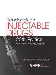 Handbook on Injectable Drugs (R)