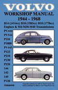 Volvo 1944-1968 Workshop Manual PV444, PV544 (P110), P1800, PV445, P122 (P120 &; Amazon), P210, P130, P220, 144, 142 &; 145