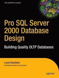 Pro SQL Server 2000 Database Design